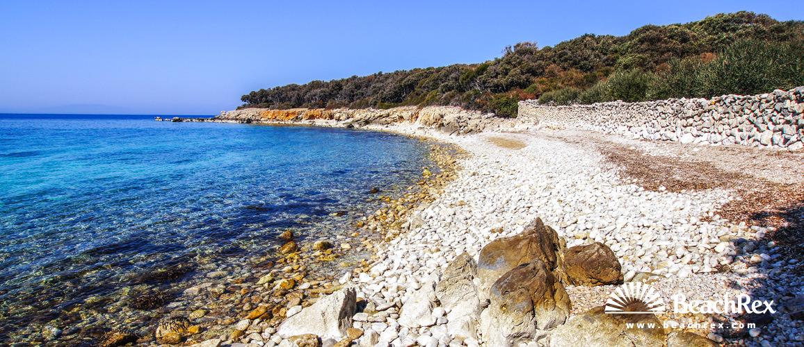 Hrvatska - Lika - Otok Pag -  Lun - Plaža Dudići