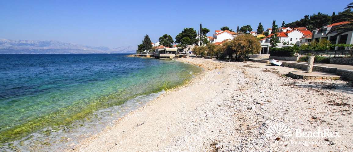 Croatia - Dalmatia  Split - Island Brač -  Sutivan - Beach Veli Majakovac