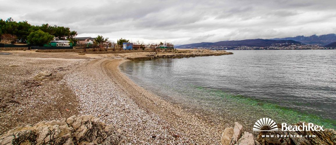Hrvatska - Kvarner - Otok Krk -  Šilo - Plaža Tiha