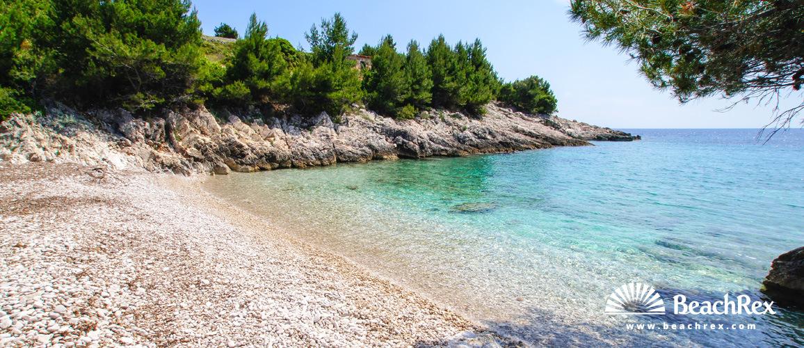 Croatia - Dalmatia  Split - Island Hvar -  Zaraće - Beach Paščuka
