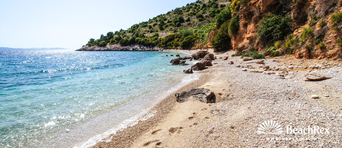 Croatia - Dalmatia  Split - Island Brač -  Murvica - Beach Veli Zagradac
