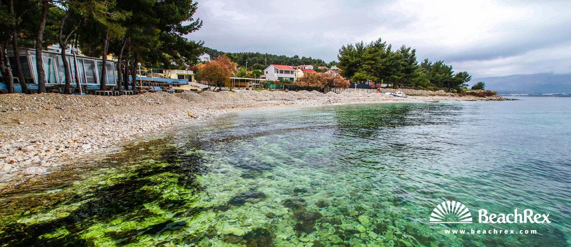 Hrvatska - Dalmacija  Split - Otok Čiovo -  Slatine - Plaža Guje