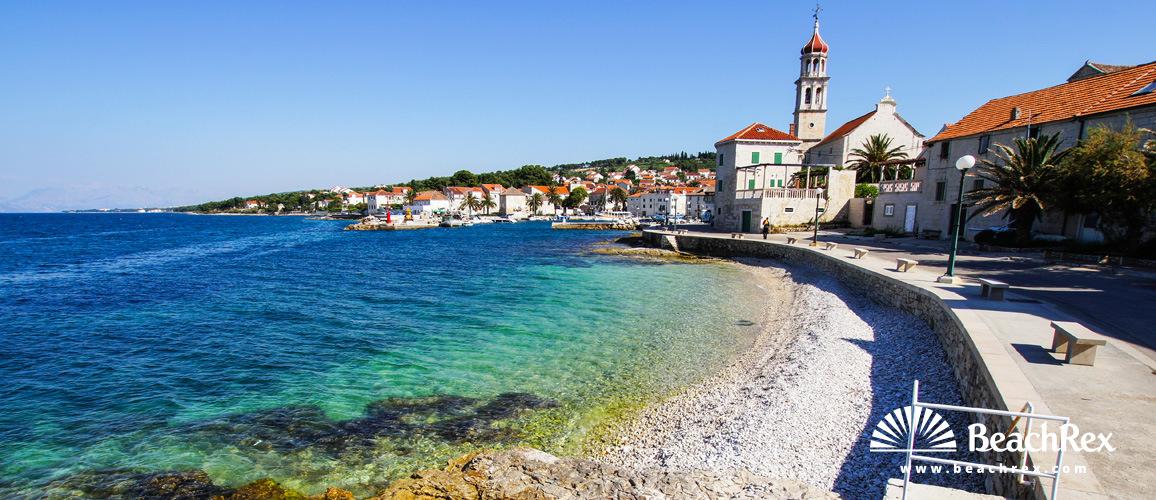 Croatia - Dalmatia  Split - Island Brač -  Sutivan - Beach Lučica
