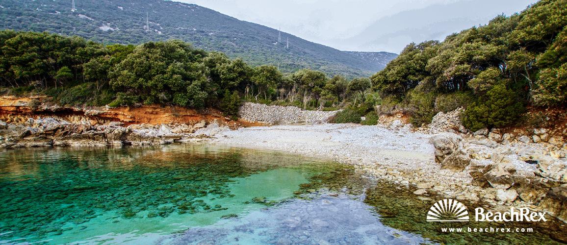 Hrvatska - Kvarner - Otok Lošinj -  Nerezine - plaza Zakalćic