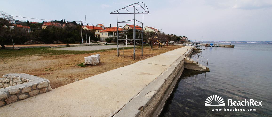 Kroatien - Dalmatien  Zadar - Insel Ugljan -  Preko - Strand Jaz