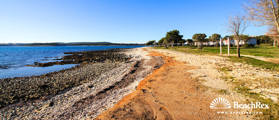 Croatia - Istra -  Medulin - Beach Kažela