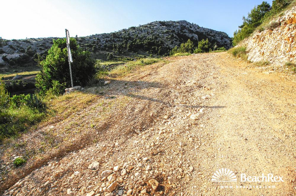 Croatia - Dalmatia  Split - Island Brač -  Murvica - Beach Vela Farska