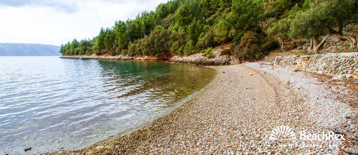 Hrvaška - Kvarner - Otok Cres -  Cres - Plaža Nava