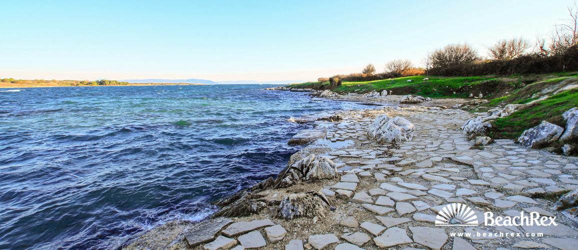 Croatia - Istra -  Ližnjan - Beach Ližnjan