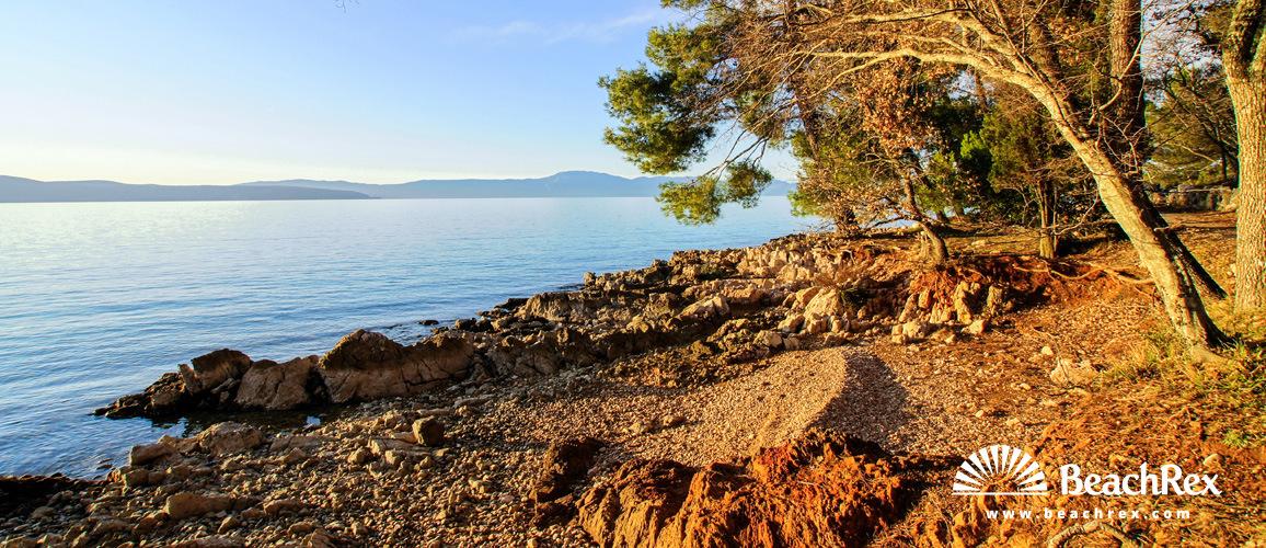 Croatia - Kvarner - Island Krk -  Malinska - Rajska beach