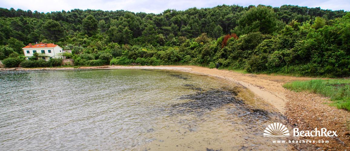 Croatia - Dalmatia  Split - Island Hvar -  Stari Grad - Beach Maslinica