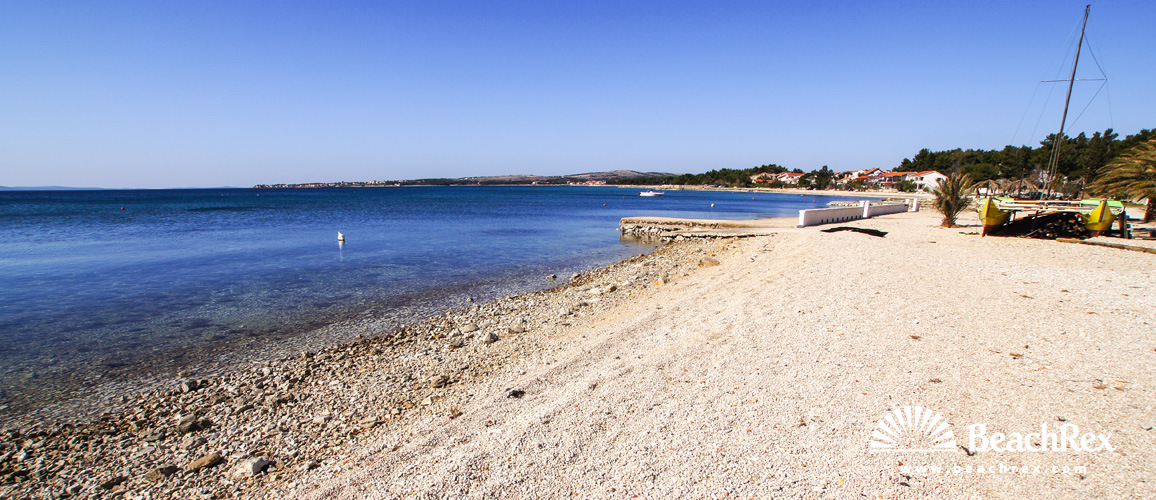 Hrvatska - Dalmacija  Zadar - Otok Vir -  Vir - Plaža Luka