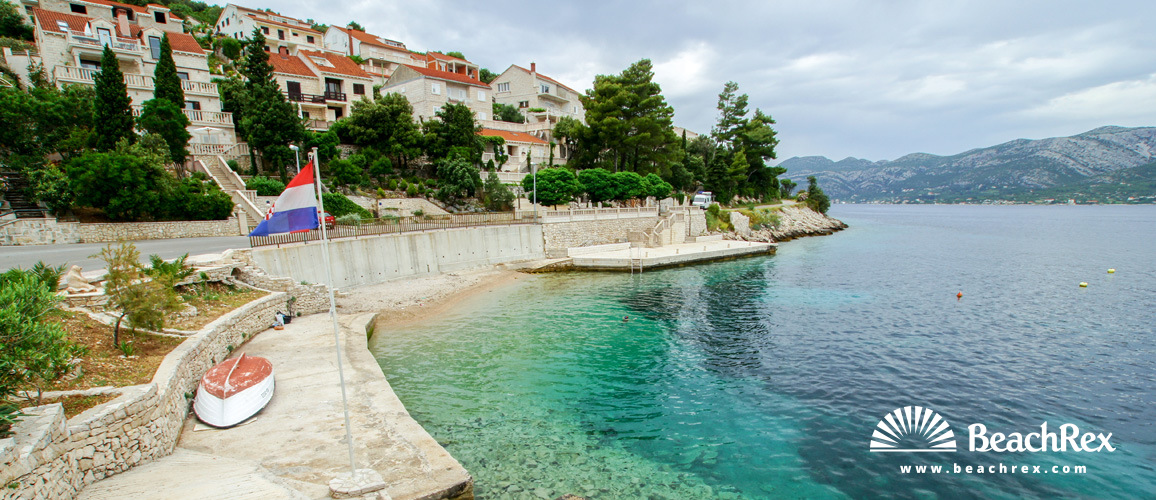 Croatia - Dalmatia  Dubrovnik - Island Korčula -  Žrnovo - Beach Medvinjak