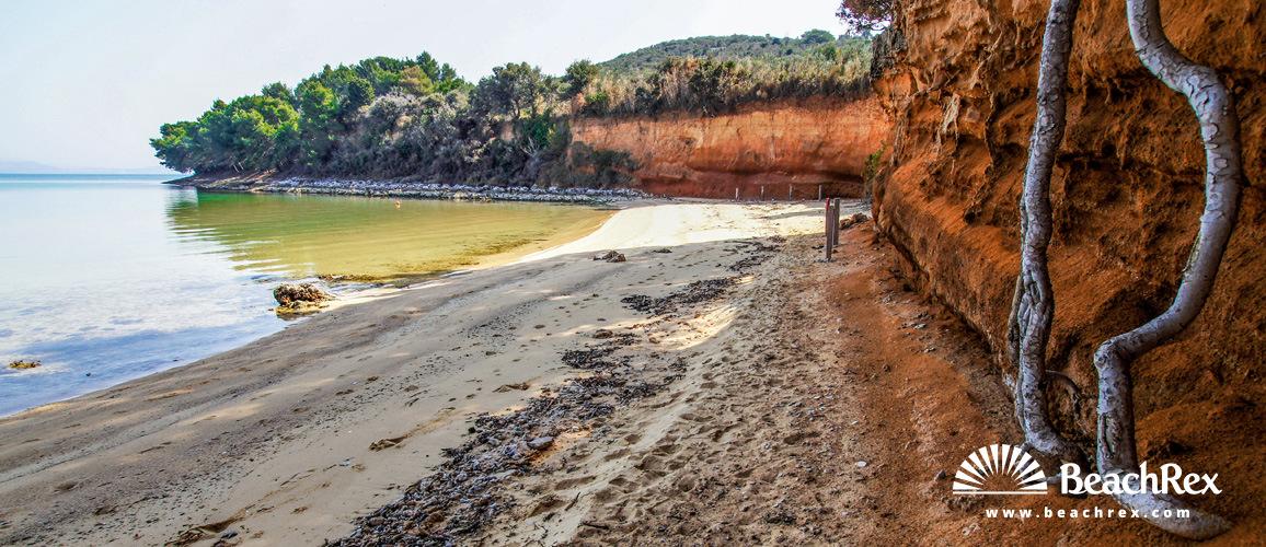 Croatia - Dalmatia  Zadar - Island Pašman -  Tkon - Beach Sovinje