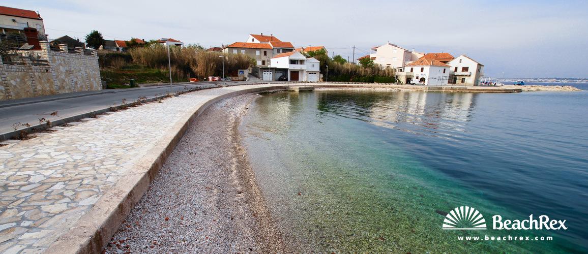 Kroatien - Dalmatien  Zadar - Insel Ugljan -  Kali - Strand Batalaža