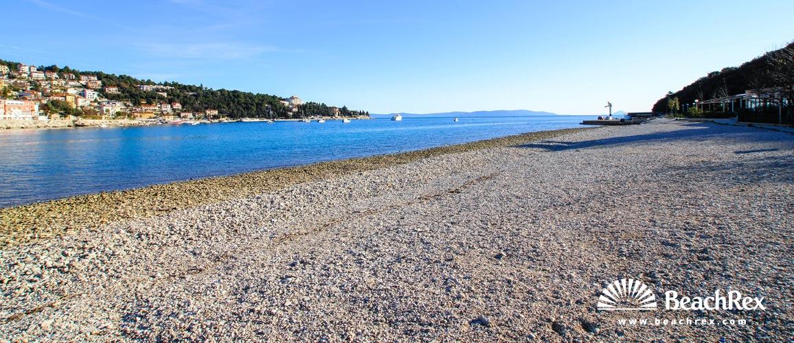 Croatia - Istra -  Rabac - Beach Maslinica