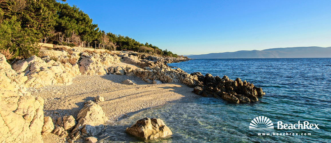 Croatia - Istra -  Rabac - Beach Girandella