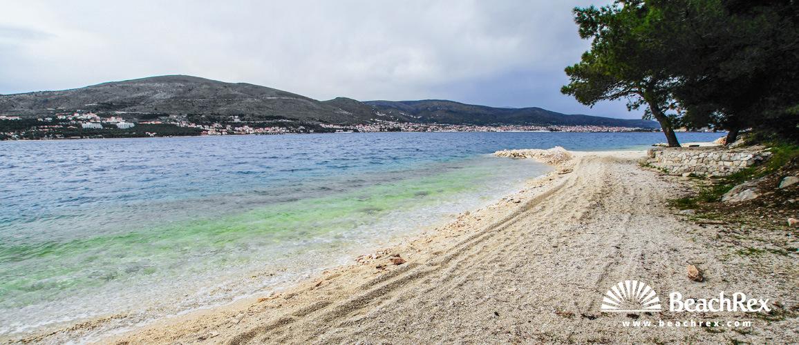 Hrvaška - Dalmacija  Split - Otok Čiovo -  Okrug Donji - Plaža Stari Porat