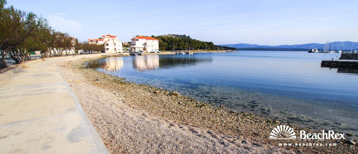 Croatia - Dalmatia  Šibenik - Island Murter -  Betina - Beach Zdrače