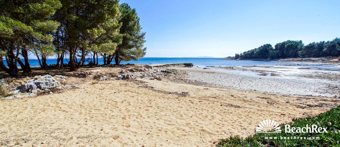 Croatia - Dalmatia  Zadar - Island Vir -  Kozjak - Beach Sapavac