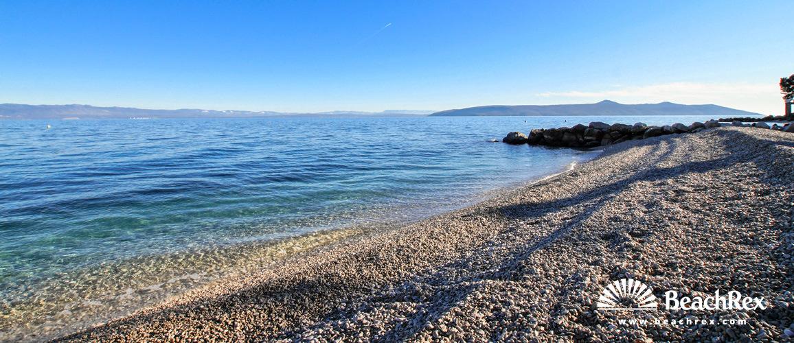 Croatia - Kvarner -  Mošćenička Draga - Beach Sipar