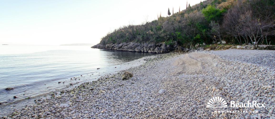 Croatia - Kvarner -  Mošćenička Draga - Beach Cesarova