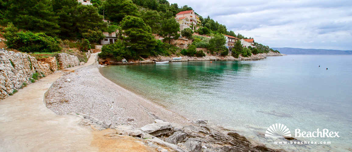 Croatia - Dalmatia  Split - Island Hvar -  Jelsa - Beach Prapatna