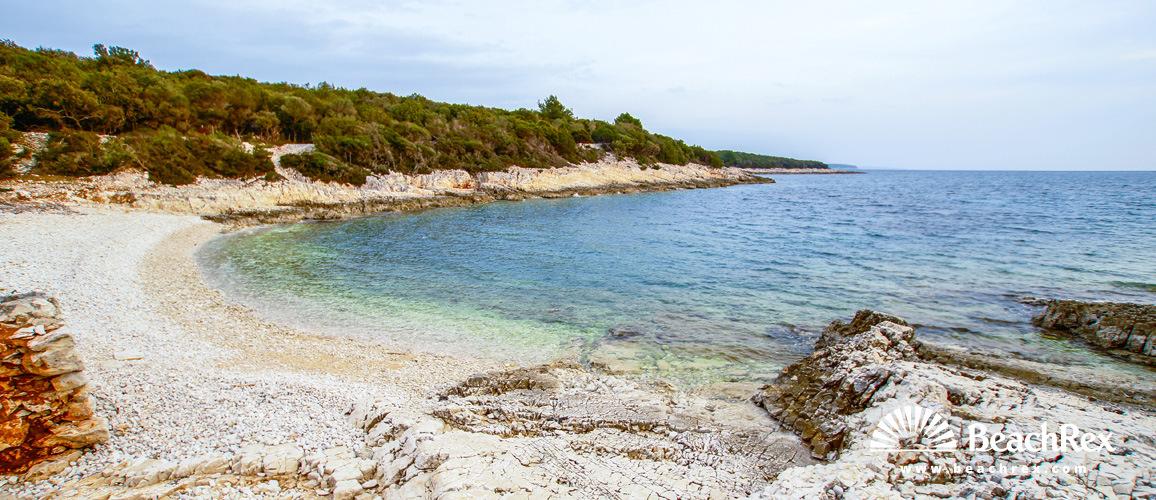 Hrvaška - Kvarner - Otok Lošinj -  Ćunski - Plaža Egerija