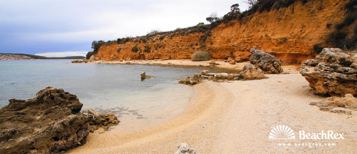 Croatia - Kvarner - Island Rab -  Barbat na Rabu - Beach Ribon