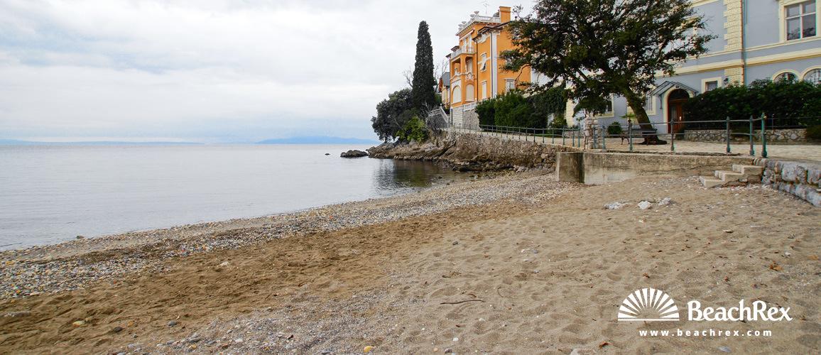 Croatia - Kvarner -  Opatija - Beach Lipovica