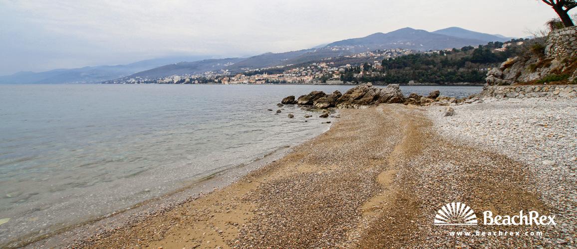 Hrvaška - Kvarner -  Rijeka - Plaža Preluk