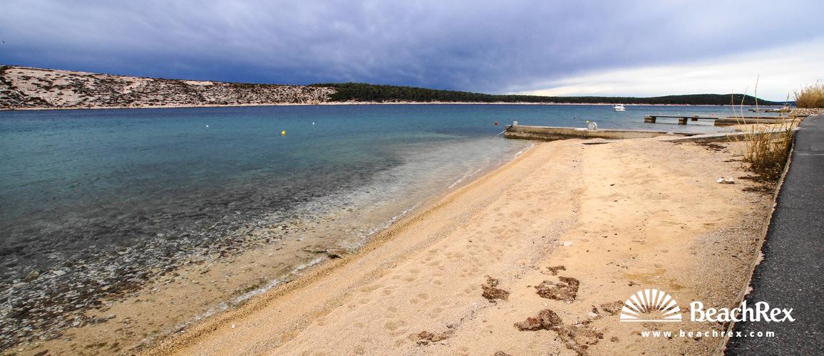 Croatia - Kvarner - Island Rab -  Barbat na Rabu - Beach Kaštel