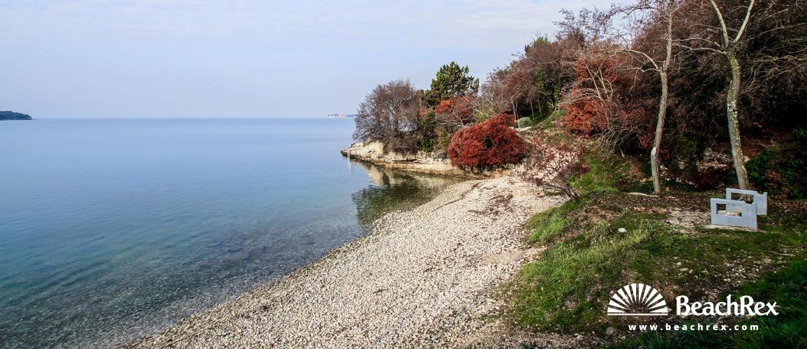 Croatia - Istra -  Novigrad - Beach Crnika