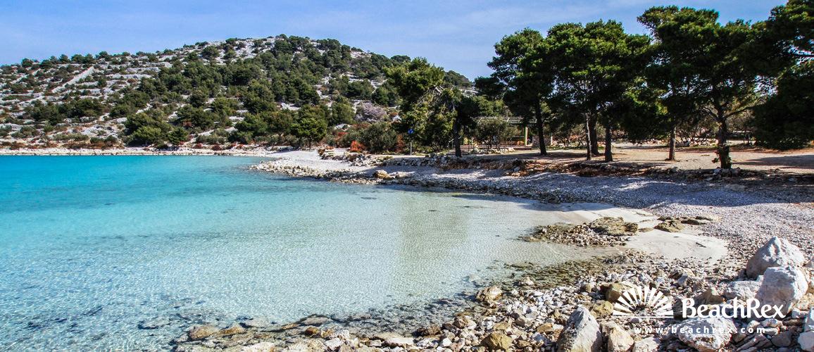 Croatia - Dalmatia  Šibenik - Island Murter -  Murter - Beach Podvrške