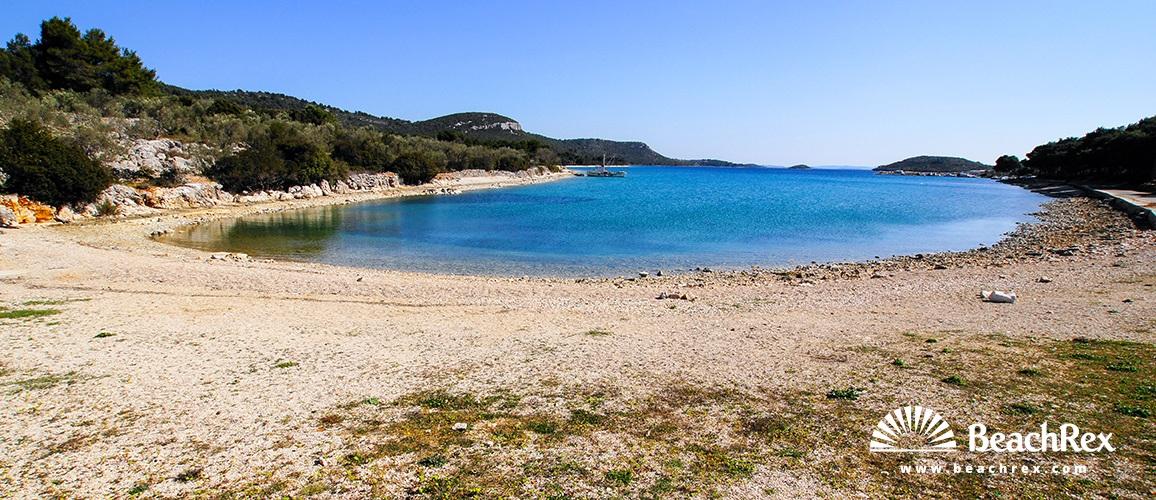 Kroatien - Dalmatien  Zadar - Insel Ugljan -  Kali - Strand Lamjana