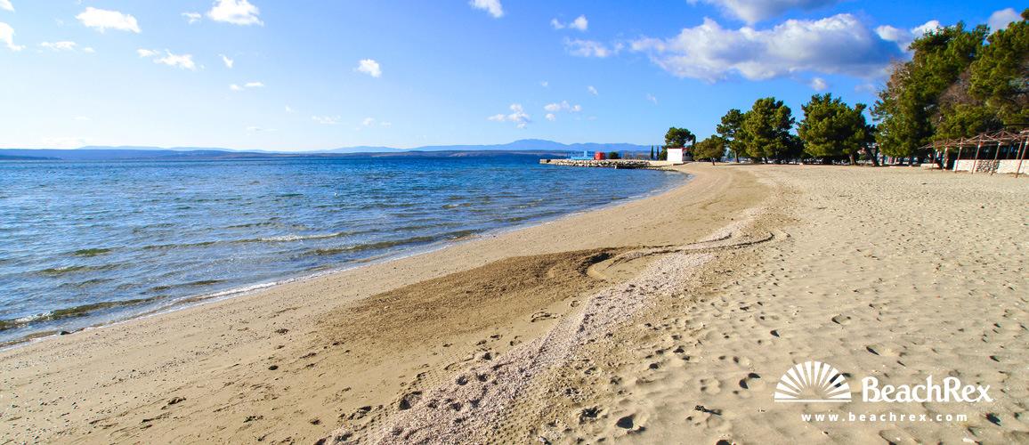 Croatia - Kvarner -  Crikvenica - Beach Crni Molo