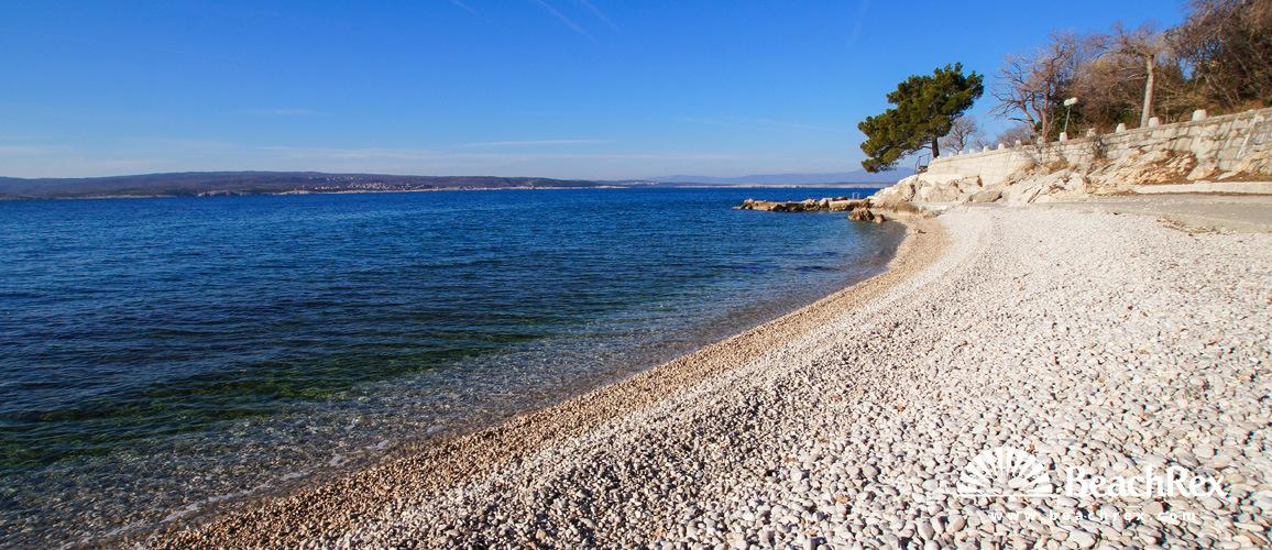 Hrvatska - Kvarner -  Selce - Plaža Amabilis