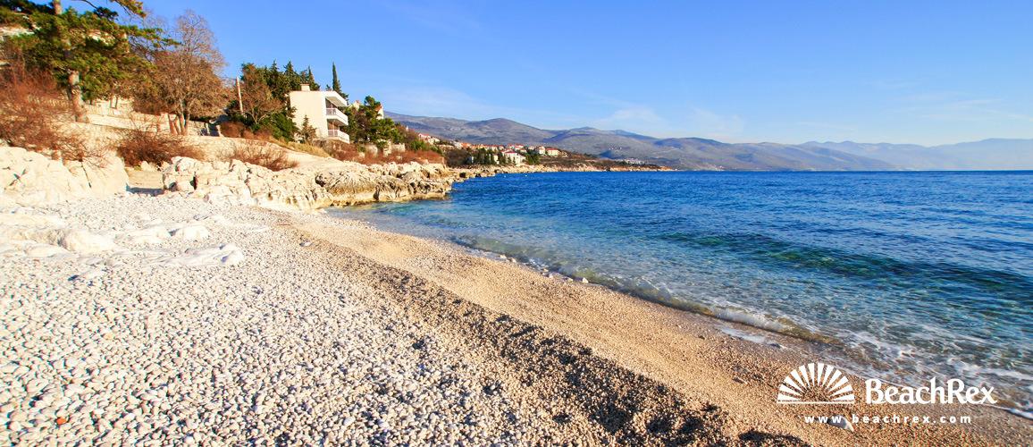 Croatia - Kvarner -  Novi Vinodolski - Beach Lopar