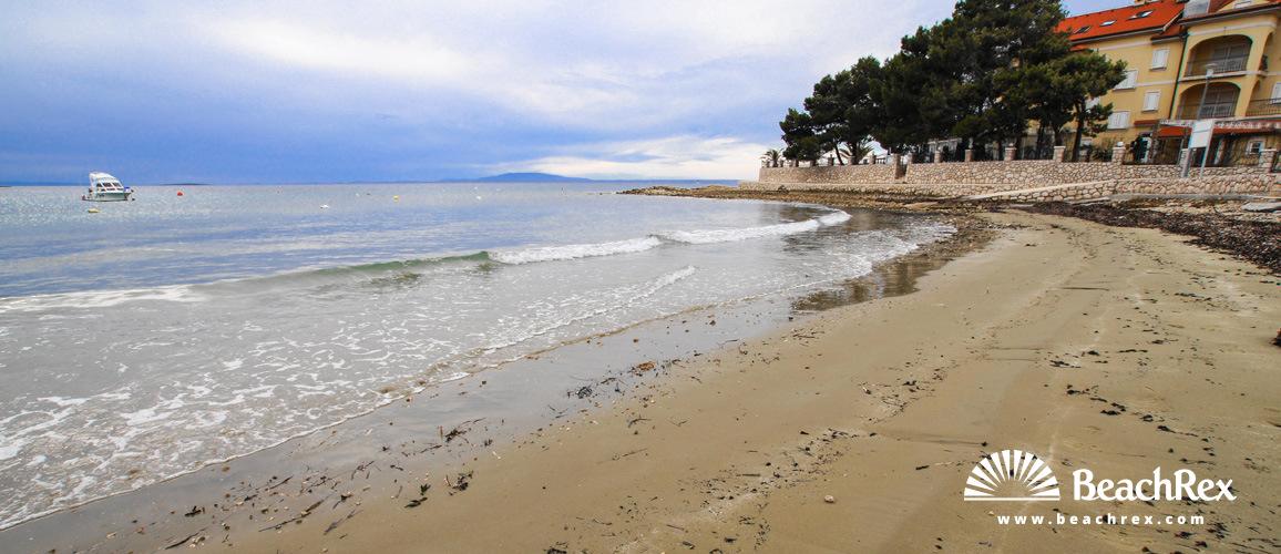 Croatia - Kvarner - Island Rab -  Banjol - Beach Padova IV