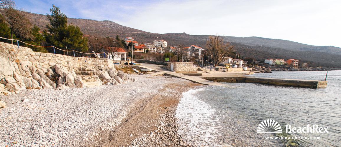 Croatia - Kvarner -  Klenovica - Beach Smokvica