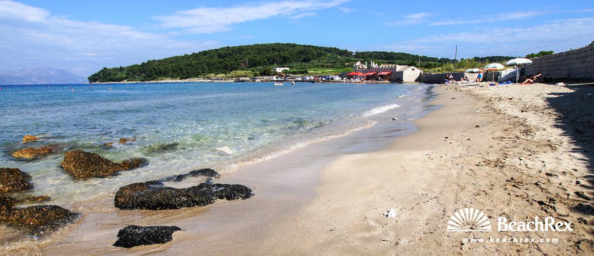 Croatia - Dalmatia  Dubrovnik - Island Korčula -  Lumbarda - Beach Bilin Žal