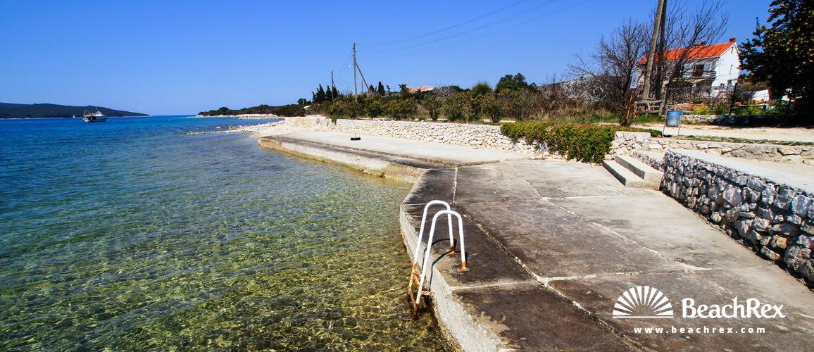 Croatia - Dalmatia  Zadar - Island Ugljan -  Muline - Beach Muline