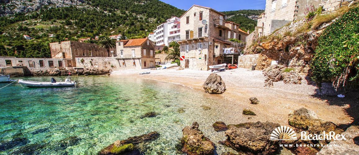 Croatia - Dalmatia  Split - Island Vis -  Komiža - Beach Bjažićovo