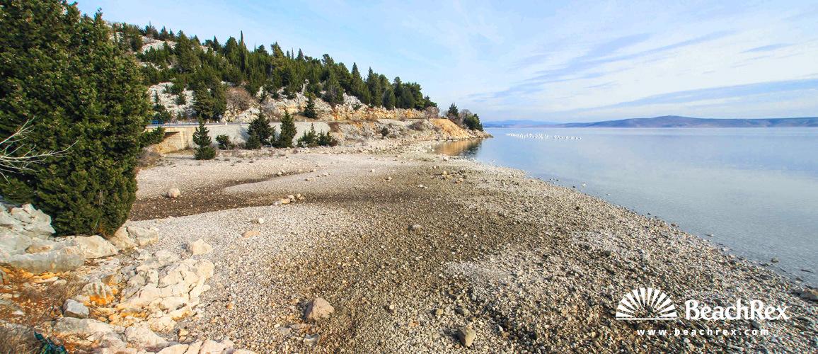 Croatia - Dalmatia  Zadar -  Starigrad Paklenica - Beach Murina