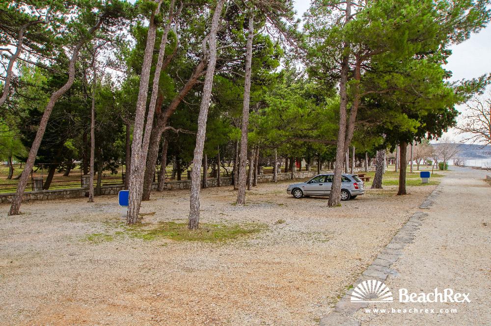 Croatia - Dalmatia  Zadar -  Starigrad Paklenica - Beach Paklenica