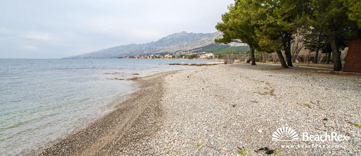 Hrvatska - Dalmacija  Zadar -  Starigrad Paklenica - Plaža Bluesun