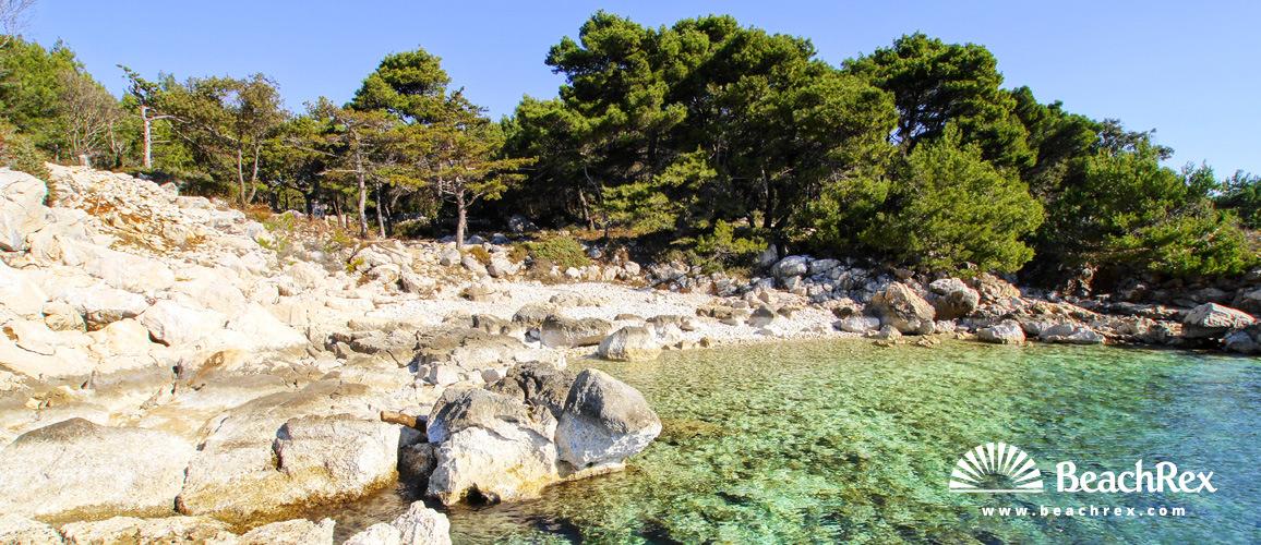 Croatia - Kvarner - Island Rab -  Kampor - Beach Frkanj