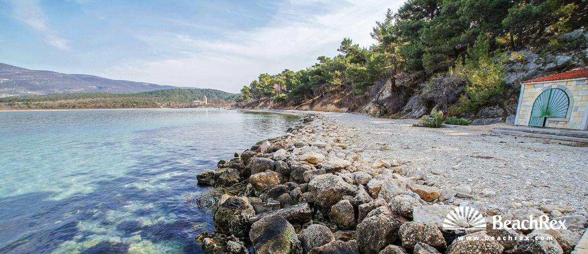 Croatia - Dalmatia  Zadar -  Donji Karin - Beach Donji Karin