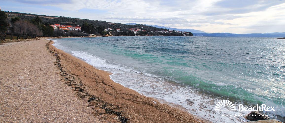 Croatia - Dalmatia  Zadar -  Posedarje - Beach Posedarje