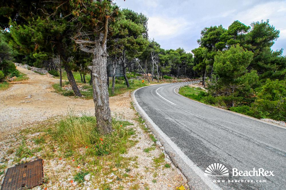 Croatia - Dalmatia  Split - Island Brač -  Supetar - Beach Babin Laz